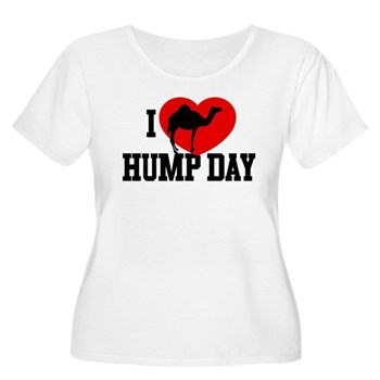 I Heart Hump Day Women's Plus Size Scoop Neck T-Sh