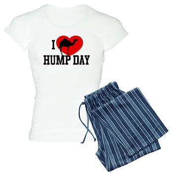I Heart Hump Day Women's Light Pajamas