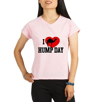 I Heart Hump Day Women's Performance Dry T-Shirt