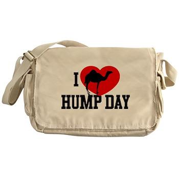 I Heart Hump Day Canvas Messenger Bag