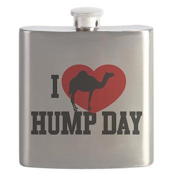 I Heart Hump Day Flask