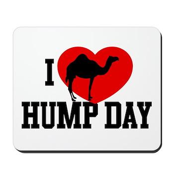I Heart Hump Day Mousepad