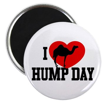 I Heart Hump Day Magnet