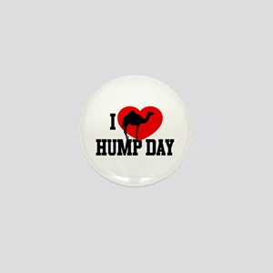 I Heart Hump Day Mini Button