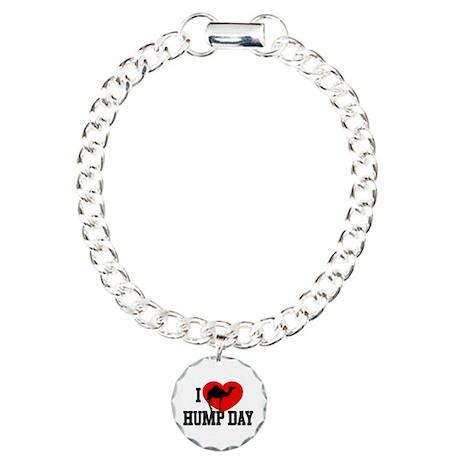 I Heart Hump Day Charm Bracelet, One Charm