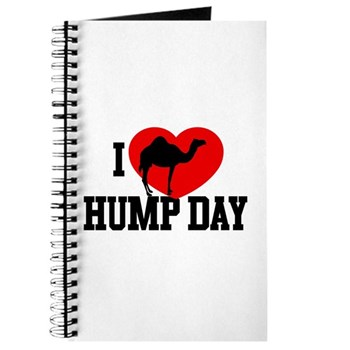 I Heart Hump Day Journal