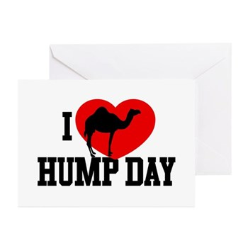 I Heart Hump Day Greeting Cards (10 pack)