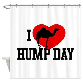 I Heart Hump Day Shower Curtain
