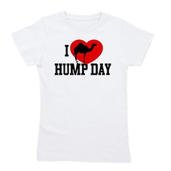 I Heart Hump Day Girl's Tee