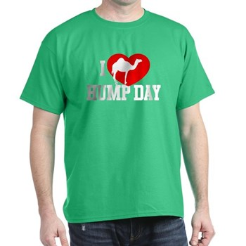 I Heart Hump Day Dark T-Shirt