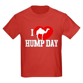 I Heart Hump Day Kids Dark T-Shirt