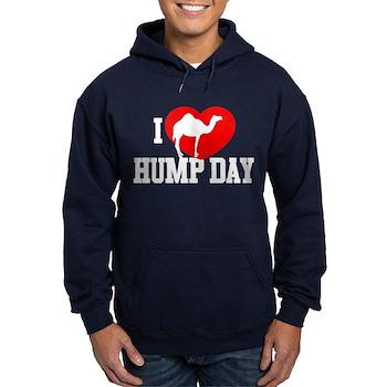 I Heart Hump Day Dark Hoodie