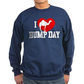 I Heart Hump Day Dark Sweatshirt