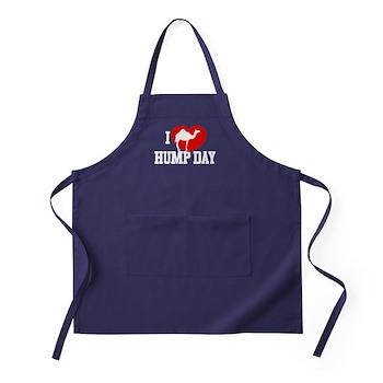 I Heart Hump Day Dark Apron