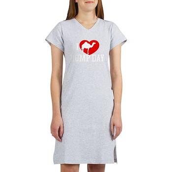 I Heart Hump Day Women's Nightshirt