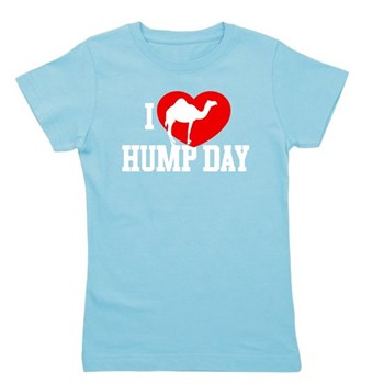 I Heart Hump Day Girl's Dark Tee
