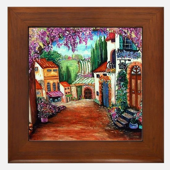 Tuscany Framed Tile