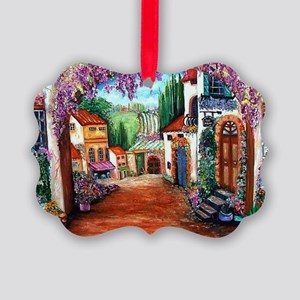 Tuscany Picture Ornament