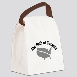The Path of Totality Canvas Lunch Bag
