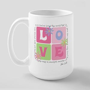 John 3:16 Large Mug
