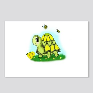 Turtle Sunflower and Butterflies Postcards (Packag