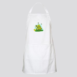 Turtle Sunflower and Butterflies Apron