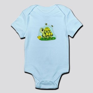 Turtle Sunflower and Butterflies Body Suit