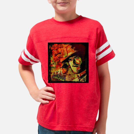 Clint Eastwood Wild West Youth Football Shirt