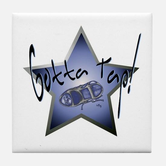 Gotta Tap! Star Tile Coaster
