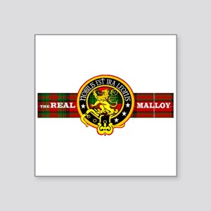 THE REAL MALLOY Sticker