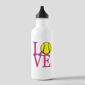 LOVE SOFTBALL Water Bottle