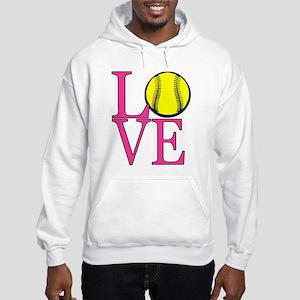 LOVE SOFTBALL Hoodie