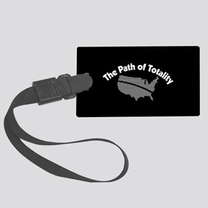 The Path of Totality Large Luggage Tag