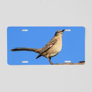 Mockingbird Profile Aluminum License Plate