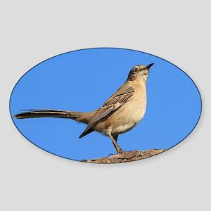 Mockingbird Profile Sticker (Oval)