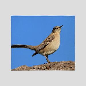 Mockingbird Profile Throw Blanket