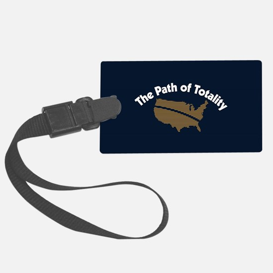 The Path of Totality Luggage Tag