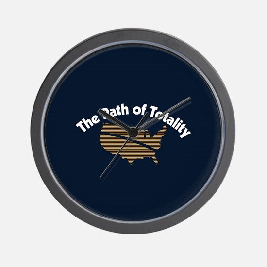 The Path of Totality Wall Clock