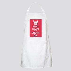 Keep Calm and Snort On Apron