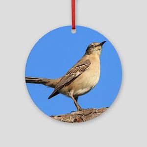 Mockingbird Profile Round Ornament