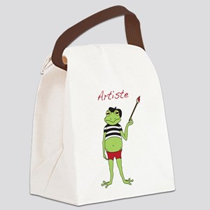 Artiste Canvas Lunch Bag
