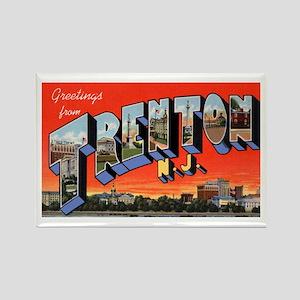 Trenton New Jersey Greetings Rectangle Magnet
