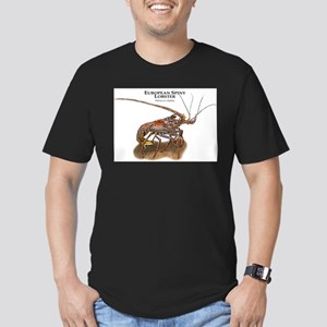 European Spiny Lobster Men's Fitted T-Shirt (dark)