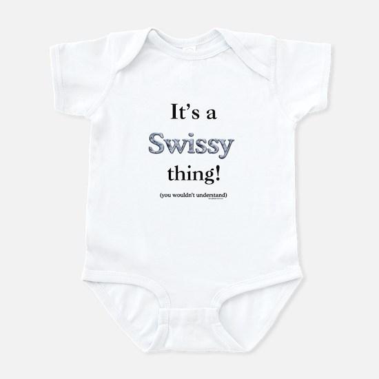 Swissy Thing Infant Bodysuit