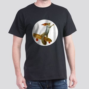 Skateboarding Squirrel Dark T-Shirt