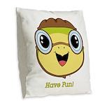 Turtle Dreamer™ Burlap Throw Pillow