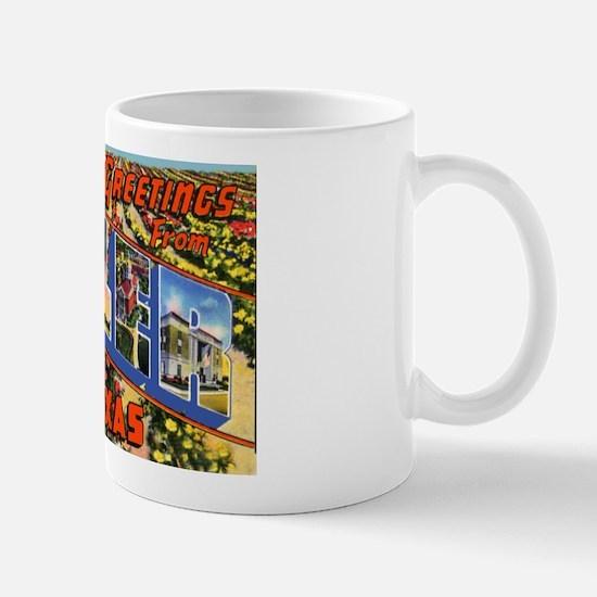 Tyler Texas Greetings Mug