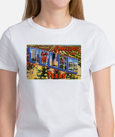 Tyler Texas Greetings (Front) Women's T-Shirt