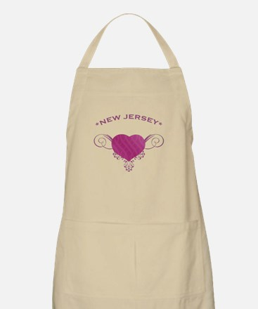 New Jersey State (Heart) Gifts Apron