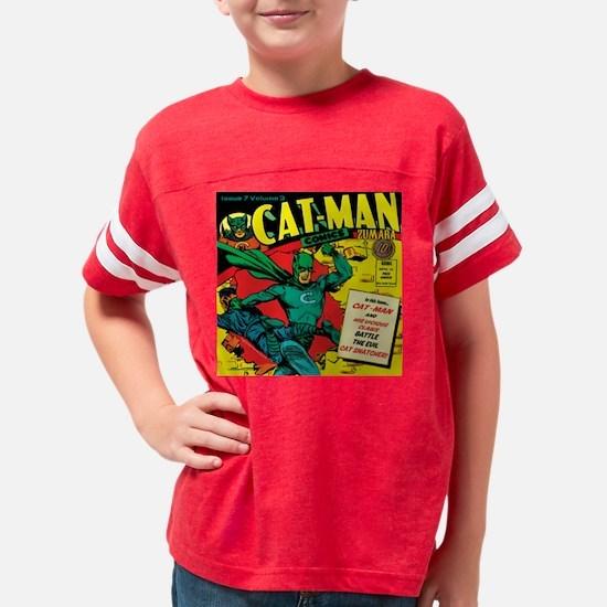 Catman Star Youth Football Shirt